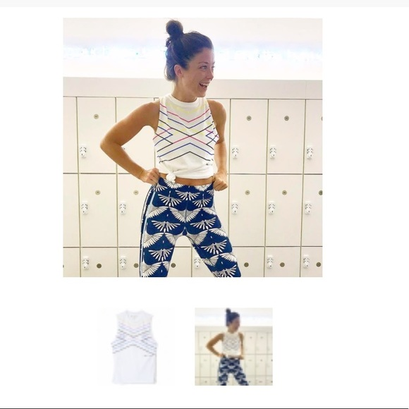 soulcycle Tops - Soul Cycle X Chromat Tank